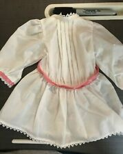 pink ribbon NWOB Pleasant Company American Girl Samantha white Tea Dress