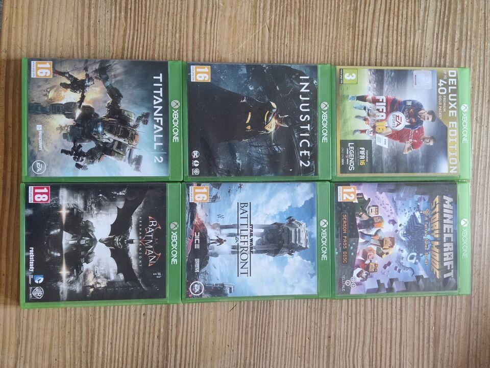 Xbox One, 2 Controllers + nogen spil, God