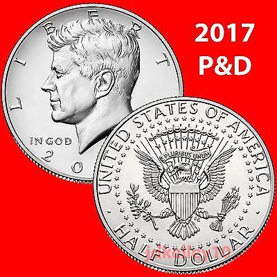 *MINT CELLO*  **FREE SHIPPING** 2 Coins 2017 P /& D Sacagawea Dollar Coin Set