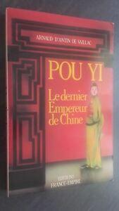 Arnaud di Antin Vaillac Per Yi Il Ultimo Imperatore Cina Francia-Impero 1987