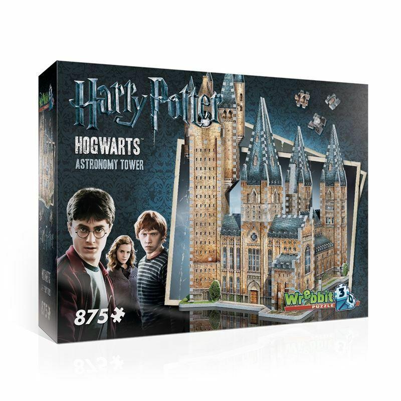 Harry Potter Hogwarts-Torre di astronomia 3d 876pc Puzzle