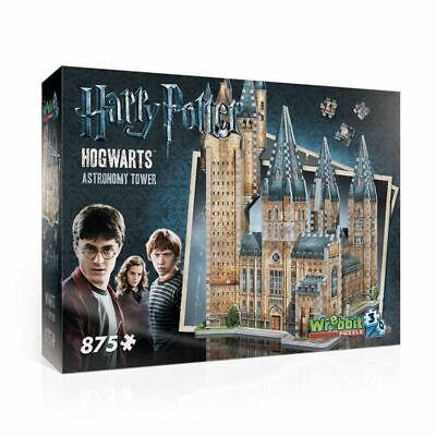 2019 Moda Harry Potter Hogwarts - Astronomia Torre 3d 876pc Puzzle