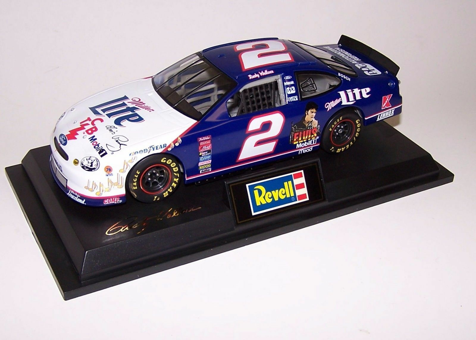 1 1 1 43 Revell Rusty Wallace 1998 Ford Taurus Miller Lite RC439801025-2 NEW e0fc0f