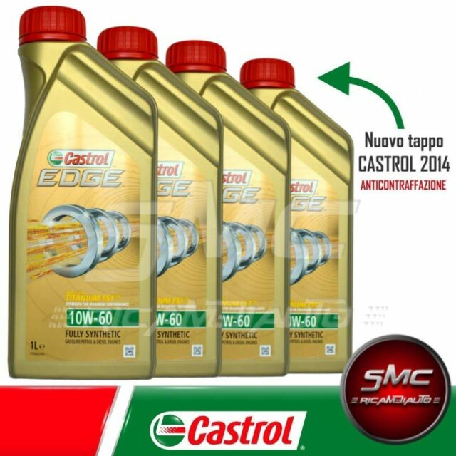OLIO MOTORE FOR BMW M-MODELS* ORIGINALE CASTROL EDGE FST 10W60 LT. 4 (4 LITRI)