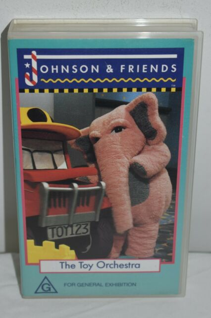 VHS TAPE -  JOHNSON AND FRIENDS THE TOY ORCHESTRA