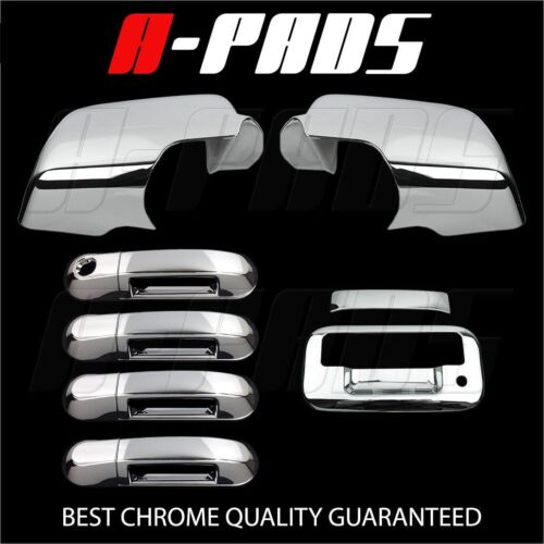 FOR FORD EXPLORER SPORT TRAC 07-09 CHROME MIRROR,DOOR HANDLE,TAILGATE COVER