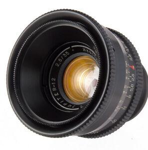 JUPITER-12-35mm-f2-8-USSR-Lens-M39-LTM-Leica-M-FED-Zorki-RF-camera-35-2-8-Biogon