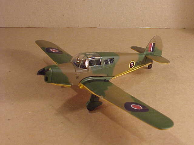 Oxford PP002 1 72 Diecast Percival Proctor Mk IV RM221 RAF Radio Trainer 1945