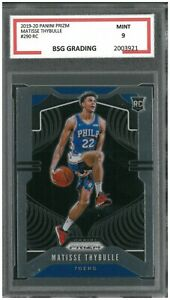 MATISSE-THYBULLE-2019-20-PANINI-PRIZM-290-RC-GRADED-9-MINT