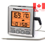 Digital Meat Thermometer Cooking Thermometer Smoker Cooking Food BBQ Thermome...