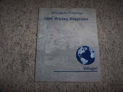 2001 Mercury Villager Electrical Wiring Diagram Manual ...
