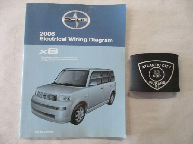 2006 Toyota Scion Xb Electrical Wiring Diagram Service