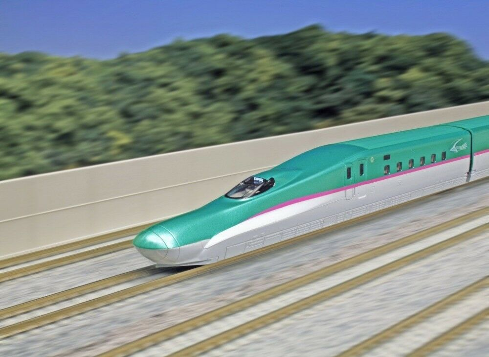 KATO 10-857 JR Shinkansen Bullet  E5 'Hayabusa' Basic 3-Car SetJAPAN F S J7312