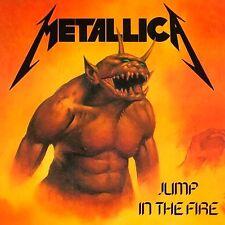 Metallica - Jump In The Fire EP Vinyl LP Heavy Metal Sticker Or Magnet