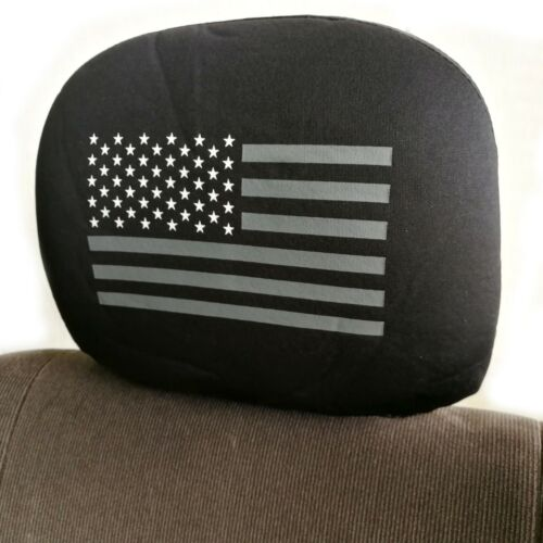 For Jeep New Black US Flag Car Truck SUV Seat Covers Full Set with Gift