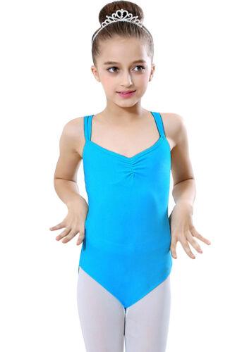 Brand New Kids Girls Ballet  Dress Dancewear Leotards Costume Bodysuit Stretchy