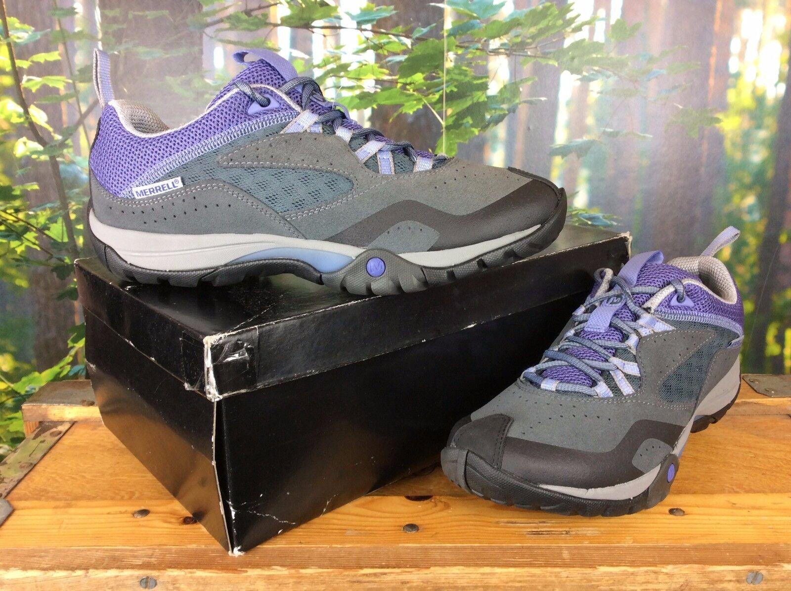 MERRELL 39 LADIES UK 6 EU 39 MERRELL GREY PURPLE AZURA TURBULENCE WALKING Schuhe 23745c