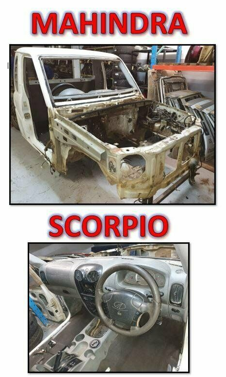 MAHINDRA SCORPIO SC CAB AND FRONT END IN PERFECT CONDITION!!!!