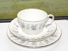 Minton English Fine Bone China Alpine Spring Pattern Trio Cup Saucer Plate