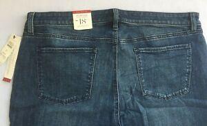 New-TALBOTS-Women-039-s-Jeans-FLAWLESS-FIVEPOCKET-BOOTCUT-LEG-Mid-Rise-91017A