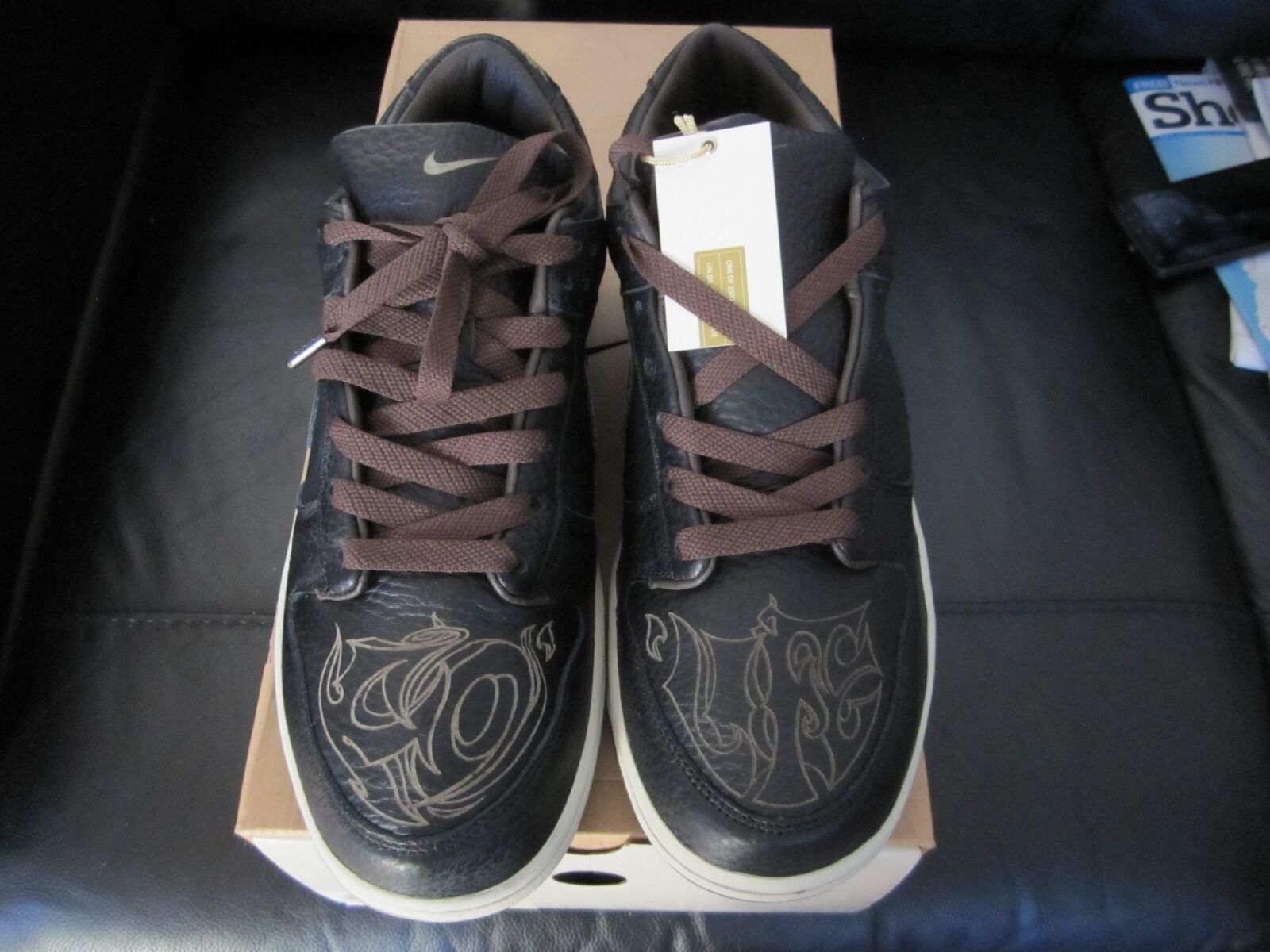 Nike Dunk Low By Laser Pack Limited Edition By Low Micheal Desmond U.K aba995