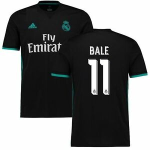 best cheap 43630 81af3 adidas Real Madrid 2017 - 2018 Gareth Bale # 11 Away Soccer ...