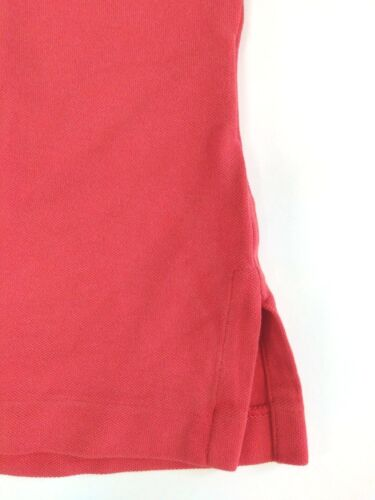 $165 Ralph Lauren Black Label Mens Stretch Pima Cotton Mesh Red Polo Shirt Small
