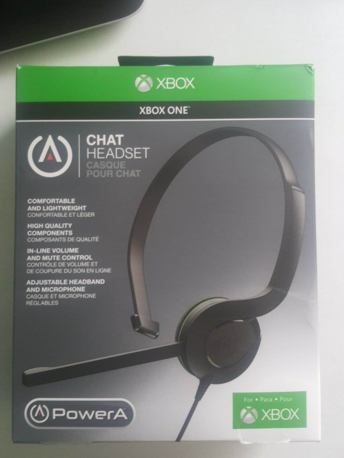 PowerA Chat Headset for Xbox One