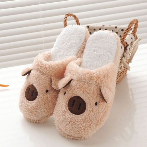 Anti-slip Warm Shoes for Women Men Couple Winter Indoor Slipper General New PF
