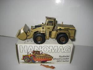 Amical Hanomag 66 C Glisseur #569.4 Gold Curseur 1:50 Neuf Dans Sa Boîte-afficher Le Titre D'origine Pure Blancheur