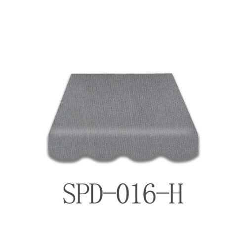 Volant 3 x 2,5 m grau Neu SPD-016H Markisenstoff  Markisenbespannung inkl
