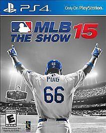 MLB 15: The Show (Sony PlayStation 4, 2015)
