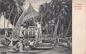 Colombo-Fishermen-c-1920-Uduman-Tessa-Cosgrave-Theodore-Rd-Port-Talbot-RK340