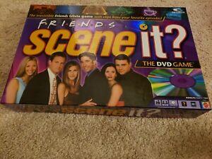 Friends scene it dvd trivia game 2005 no instructions 1 card.