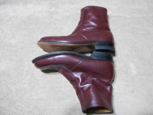 taille pour élégantes en 9d marron cuir O'sullivan à homme glissière à latérale Bottes fermeture WE2IDH9