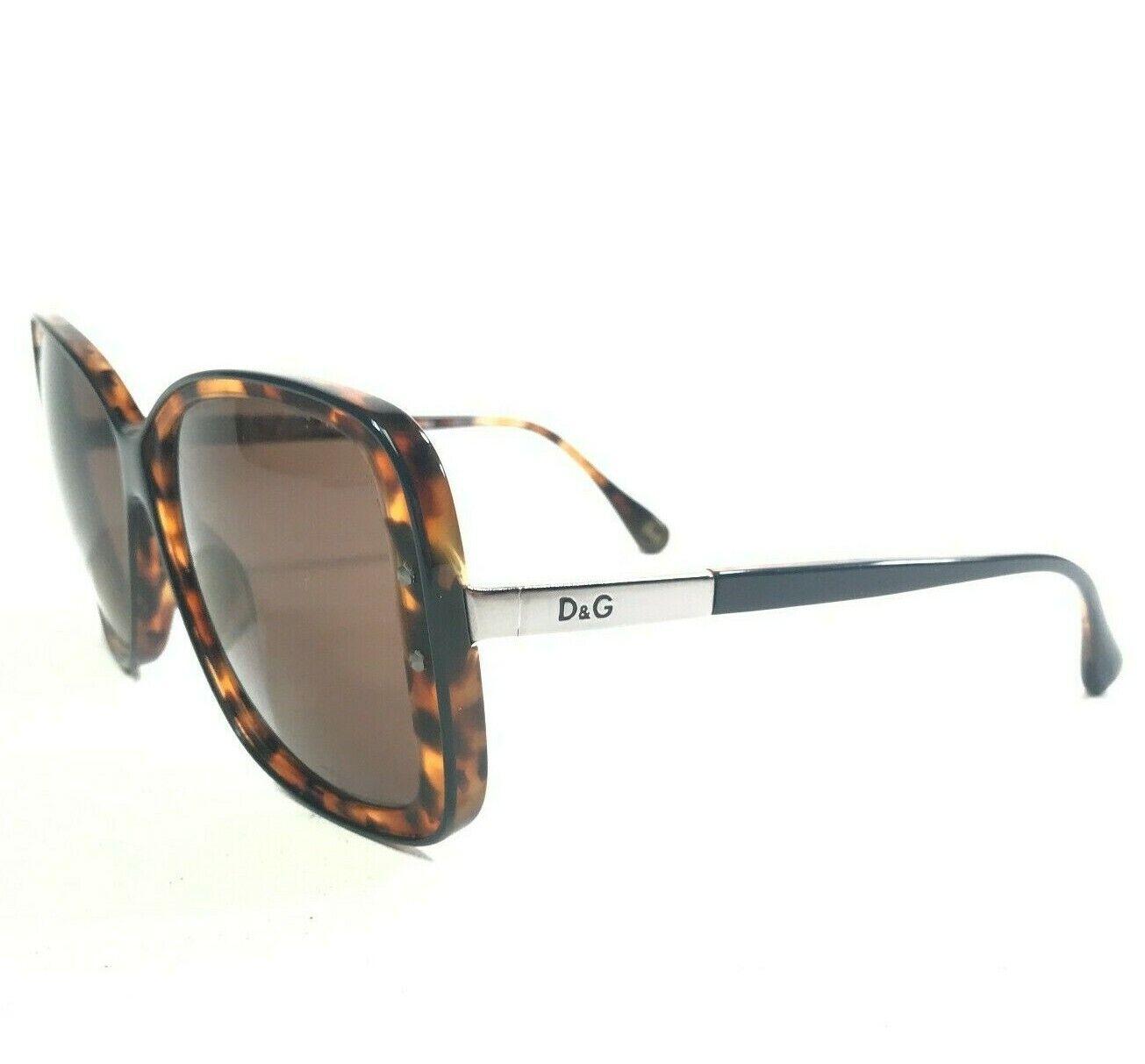 Dolce & Gabbana Sunglasses D&G3078 1979/73 Tortoise Gray Oversize Butterfly 135