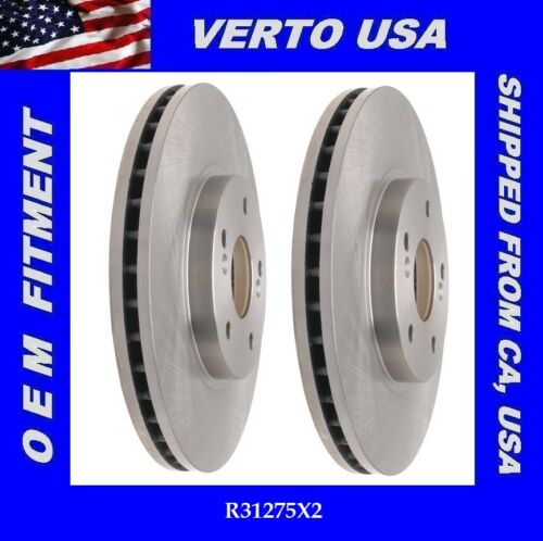 Based on Fitment Chart For Acura CL Front Brake Rotors MDX Set TSX TL