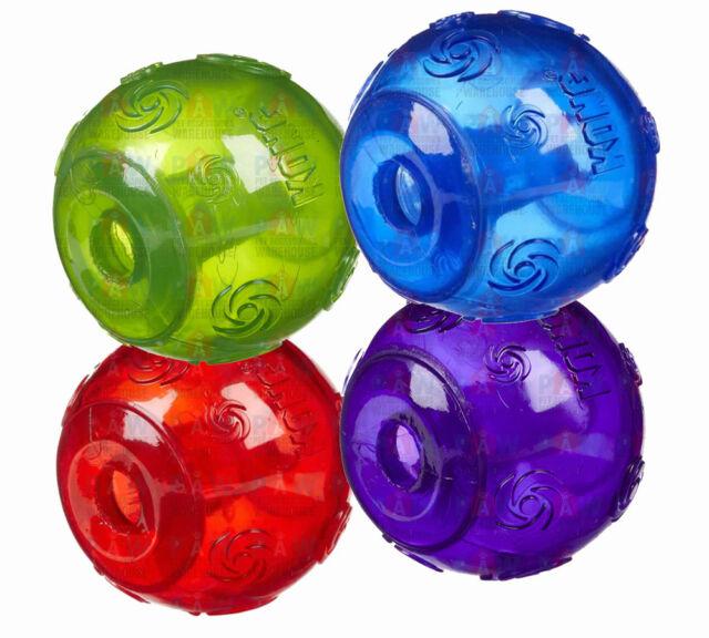 KONG SQUEEZZ BALL LARGE PSB1 Tough Durable Dog Bouncy Squeaky Ball Various Colou