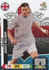 JAMES MILNER # ENGLAND CARD PANINI ADRENALYN EURO 2012