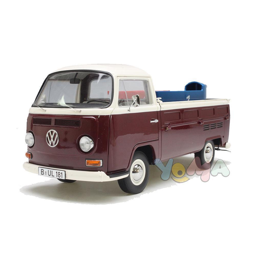 envío gratuito a nivel mundial Schuco 1 18 Volkswagen Volkswagen Volkswagen T2A Cocheretilla con cajas de jabón rojo 450018200  ventas en linea