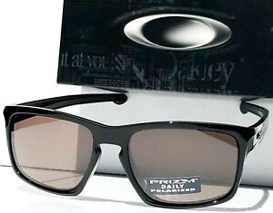 793078096c NEW Oakley SLIVER BLACK w POLARIZED PRIZM DAILY Driver Lens Sunglass ...