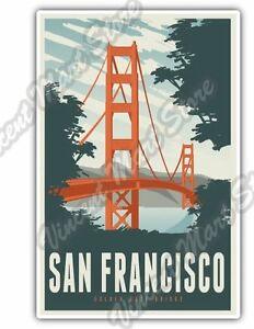 Image Is Loading San Francisco Golden Gate Bridge California Car Per