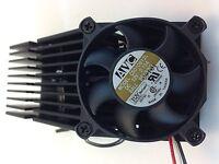 Avc Cooling Fan W/heat Sink 50mm Sq 130 X 40 X 50mm Tx3 3 Pin Conn Zc5010b12l