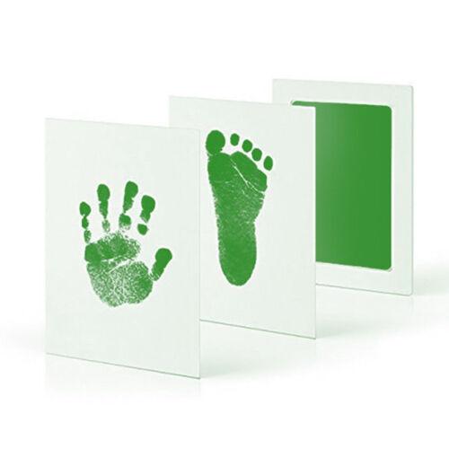 Baby Handprint Footprint Newborn Imprint Inkpad Infant Souvenirs Casting Kit Hot