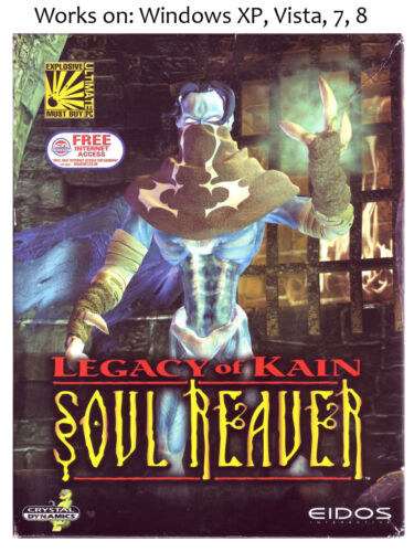 Legacy of Kain Soul Reaver PC Game 1999 Windows XP Vista 7 8