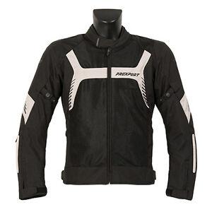 Giubbotto-Moto-Uomo-Estivo-Traforato-Prexport-Fes-Black