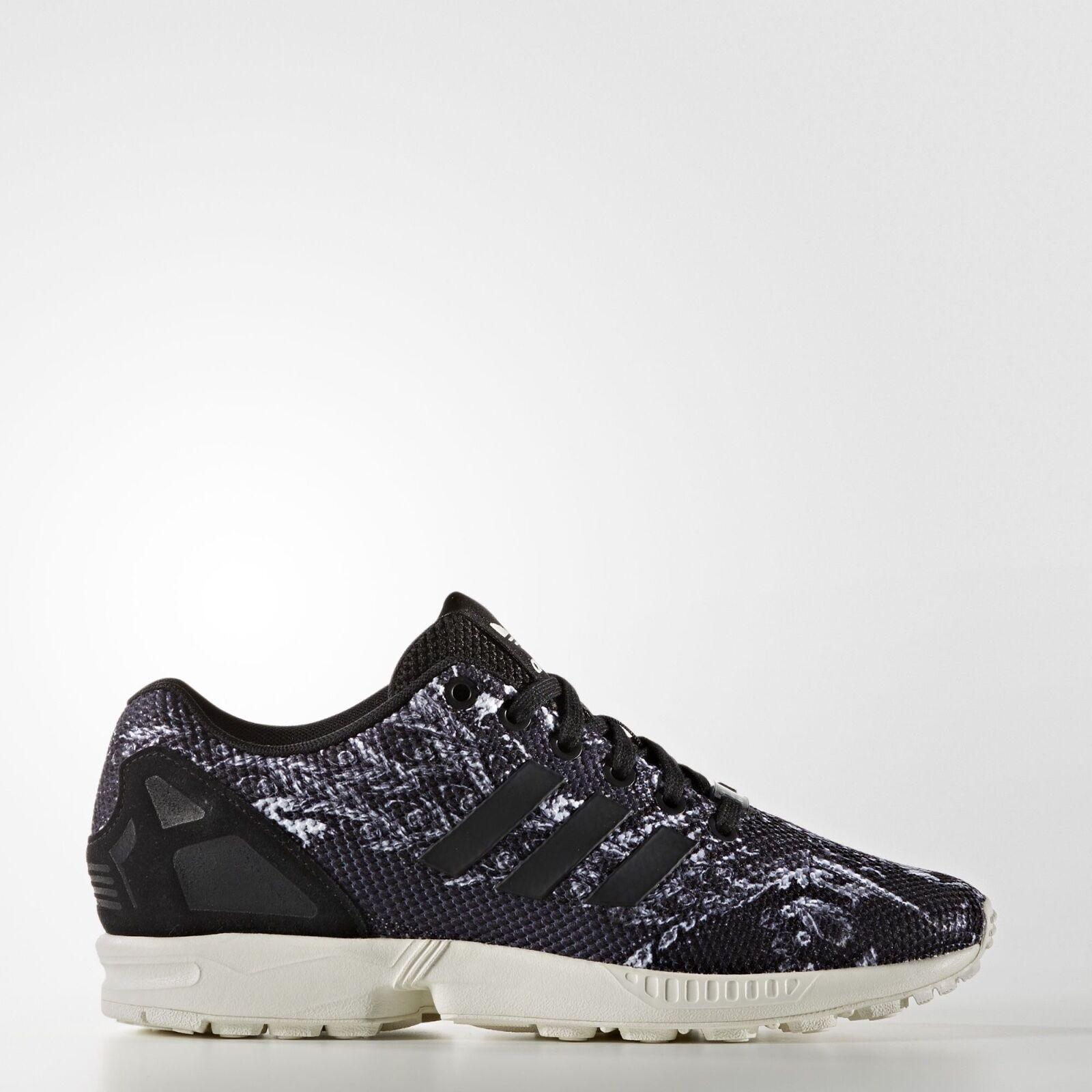 super popular 31346 dc4cb Details about Adidas Women Originals ZX Flux Shoes S76592 Black Designed by  Rio's Farm Comp.