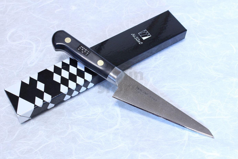 Misono sweeden Acier Carbone japonais couteau HONESUKI 145 mm