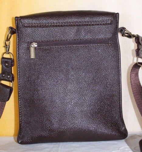 Borsa Borsello Fatta Bag Handmade Marrone Pelle Mano Uomo Vera Man Leather Cuoio dwzyIqzr