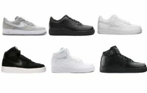 air force 1 alte bianche e nere